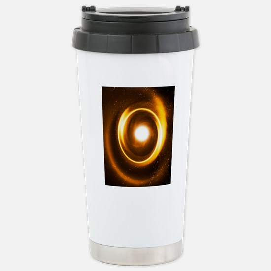 Earth in a black hole,  Stainless Steel Travel Mug