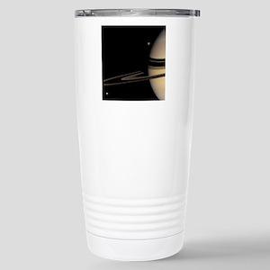 Saturn, Cassini image Stainless Steel Travel Mug
