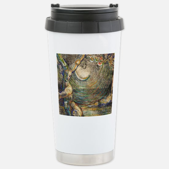 The Grove (Blue) - Mous Stainless Steel Travel Mug
