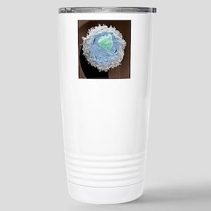 Lymphocyte white blood  Stainless Steel Travel Mug