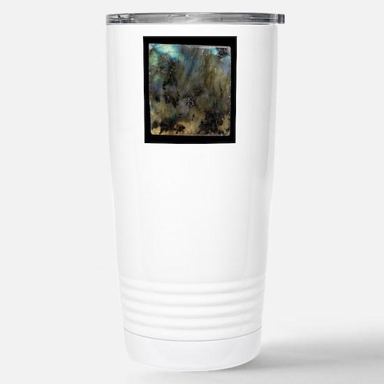Labradorite Stainless Steel Travel Mug