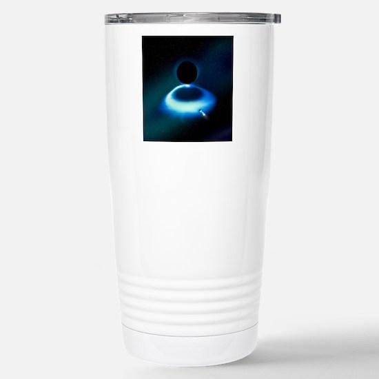 Hawking radiation resea Stainless Steel Travel Mug