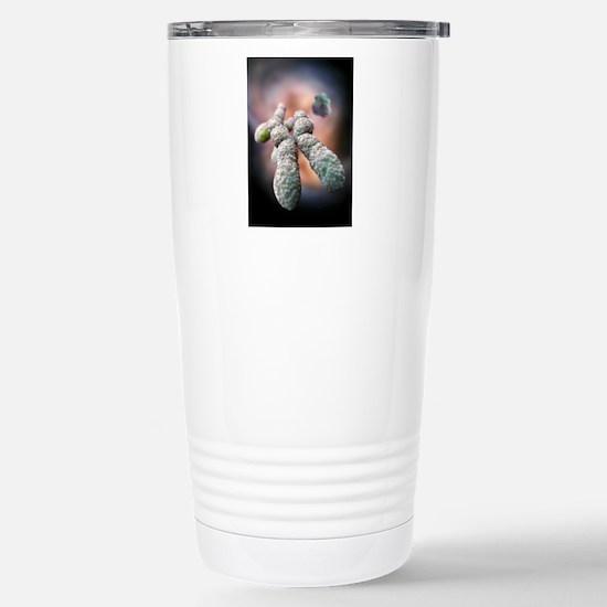 Chromosome, artwork Stainless Steel Travel Mug