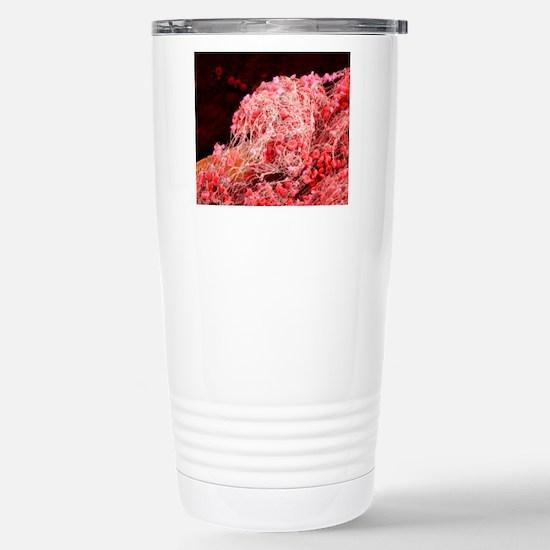 Blood clot, SEM Stainless Steel Travel Mug