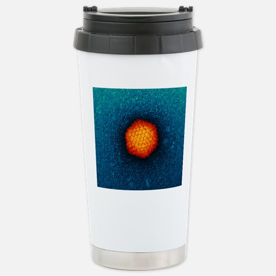 Adenovirus particle, TE Stainless Steel Travel Mug