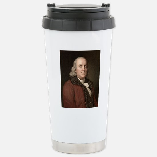 1778 Benjamin Franklin  Stainless Steel Travel Mug