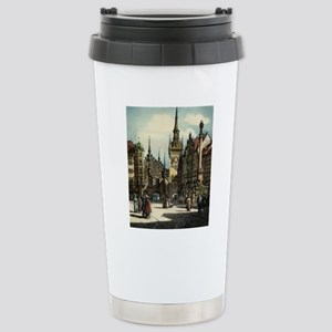 Original 1912 Drawing o Stainless Steel Travel Mug
