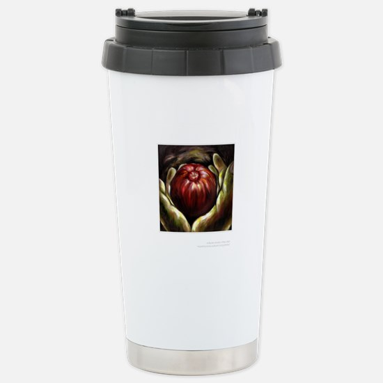 Temptation post card Stainless Steel Travel Mug