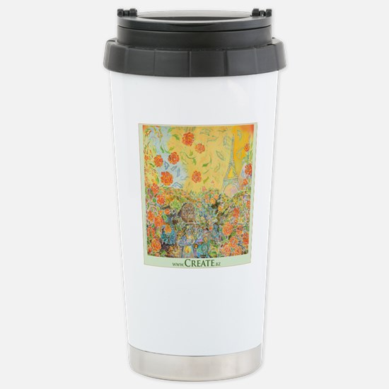 Bon Jour Stainless Steel Travel Mug