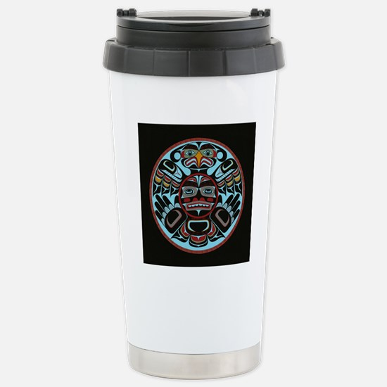 Transforming Thunderbir Stainless Steel Travel Mug