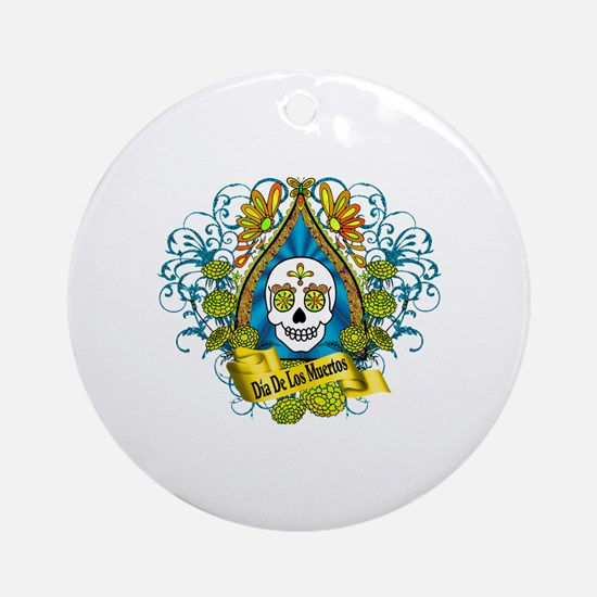 All souls day Round Ornament