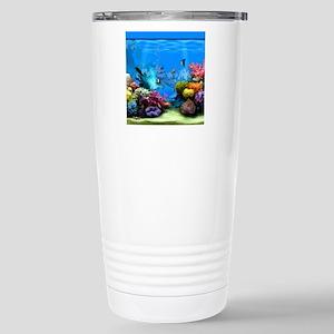 Tropical Fish Aquarium  Stainless Steel Travel Mug