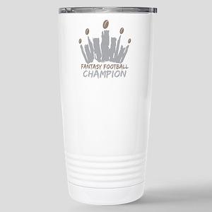 Fantasy Football Champi Stainless Steel Travel Mug