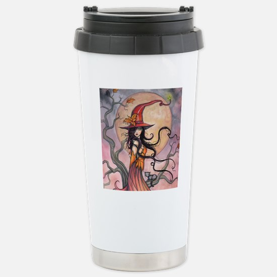 Autumn Magic Stainless Steel Travel Mug