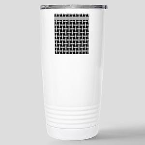 Black and Gray Stainless Steel Travel Mug