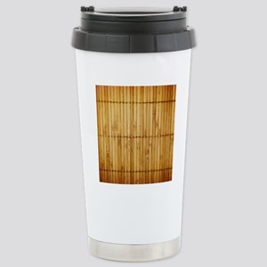 Bamboo Stainless Steel Travel Mug