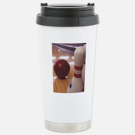Bowling Alley Stainless Steel Travel Mug