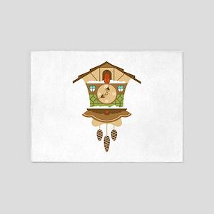 Coo Coo Clock 5'x7'Area Rug