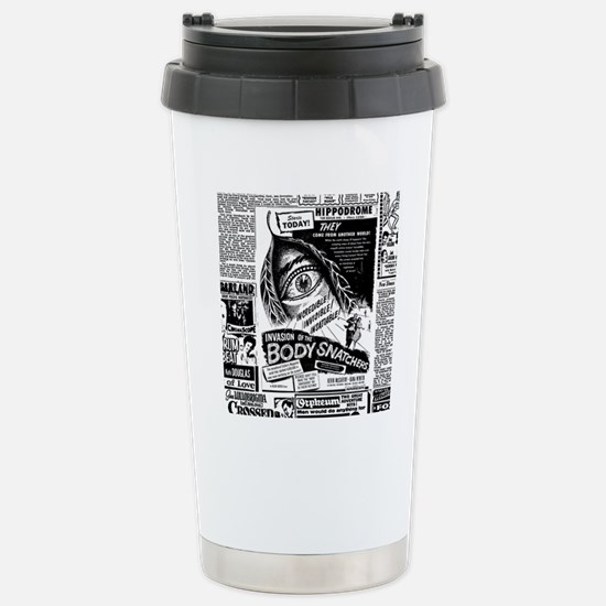 Movie Ad Body Snatchers Stainless Steel Travel Mug