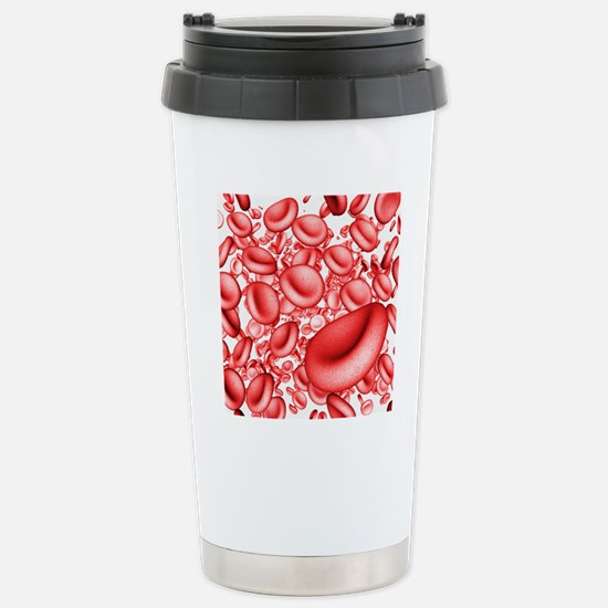 Red blood cells Stainless Steel Travel Mug