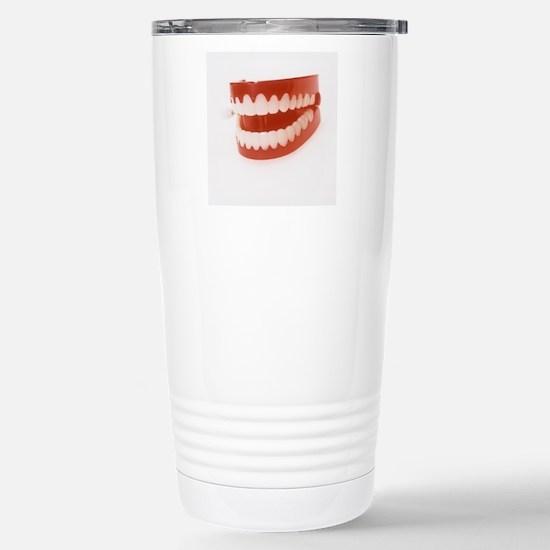 Toy teeth Stainless Steel Travel Mug