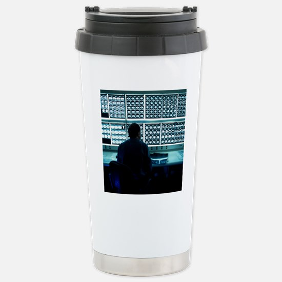 Studying CT scans Stainless Steel Travel Mug
