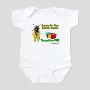 Wisconsin Cheese Cicada Infant Bodysuit