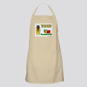 Wisconsin Cheese Cicada BBQ Apron