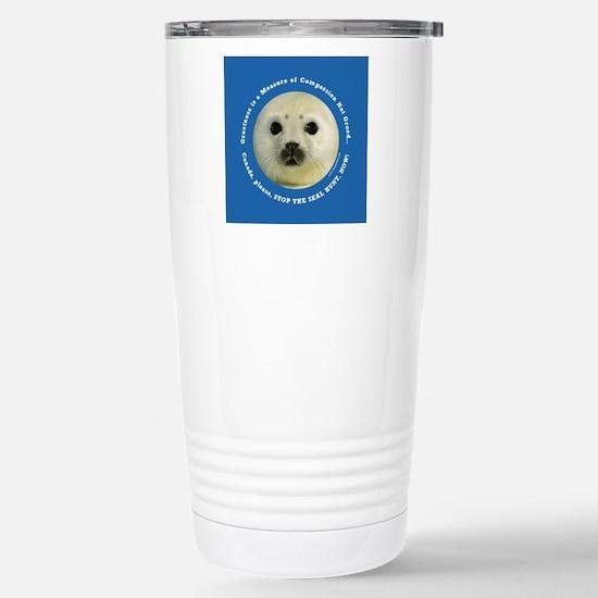 Kai Supports Sea Shephe Stainless Steel Travel Mug