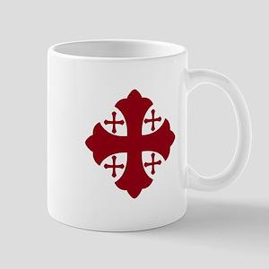 Jerusalem Cross Mug
