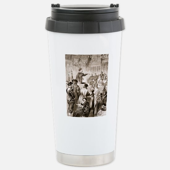 Paracelsus and the Base Stainless Steel Travel Mug