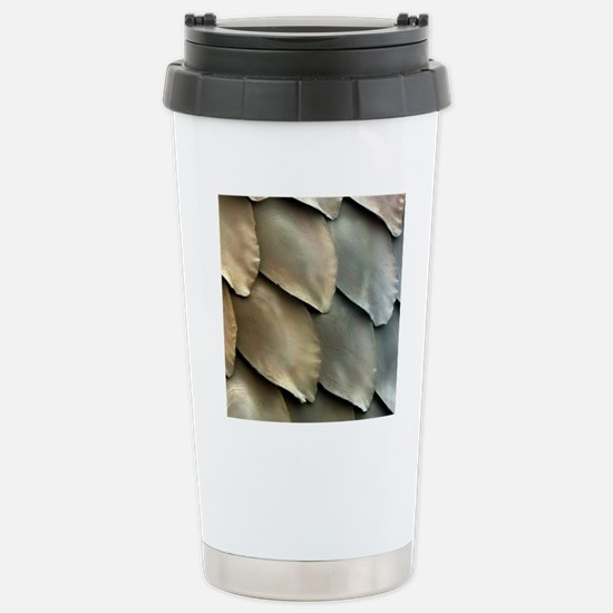 Salmon scales, SEM Stainless Steel Travel Mug