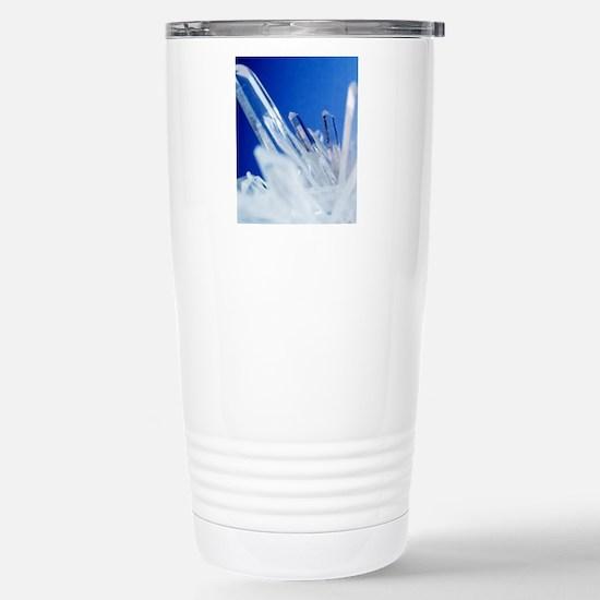 Quartz crystals Stainless Steel Travel Mug