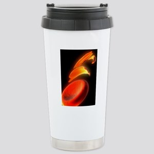Sickle cell anaemia, ar Stainless Steel Travel Mug