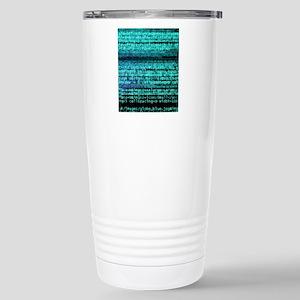 Internet computer code Stainless Steel Travel Mug