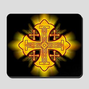 Jerusalem Cross Mousepad