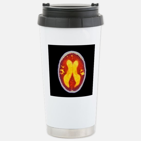 Alzheimer's disease bra Stainless Steel Travel Mug
