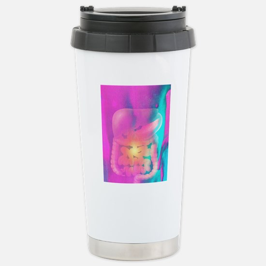 Artwork of male torso d Stainless Steel Travel Mug