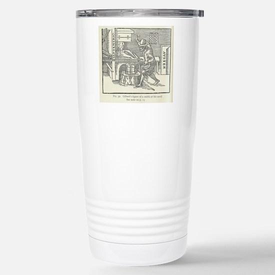 Magnetizing cooling iro Stainless Steel Travel Mug
