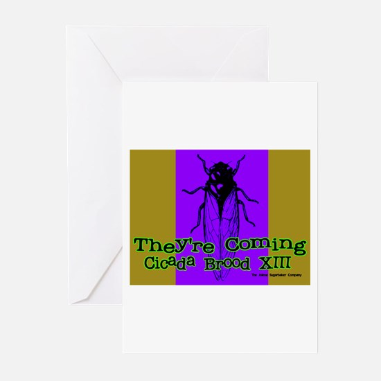 Cicada Couture Greeting Cards (Pk of 10)