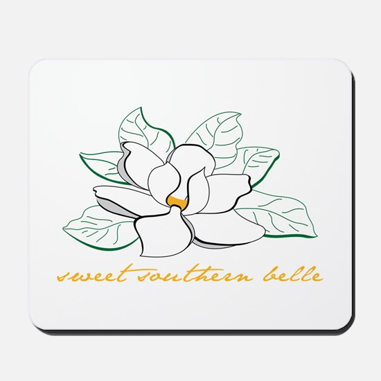 Sweet southern belle Mousepad