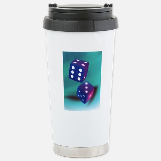 Dice Stainless Steel Travel Mug