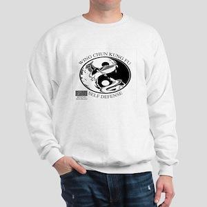 Wing Chun Kung Fu Snake And Crane Logo Sweatshirt