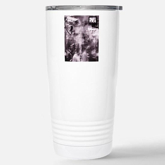 Security surveillance Stainless Steel Travel Mug
