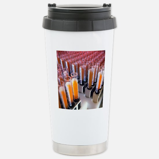 Blood samples Stainless Steel Travel Mug