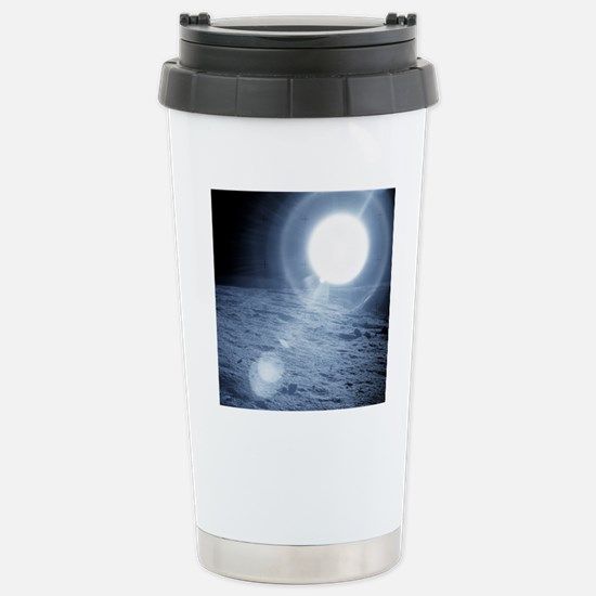 Sunrise over the Moon Stainless Steel Travel Mug