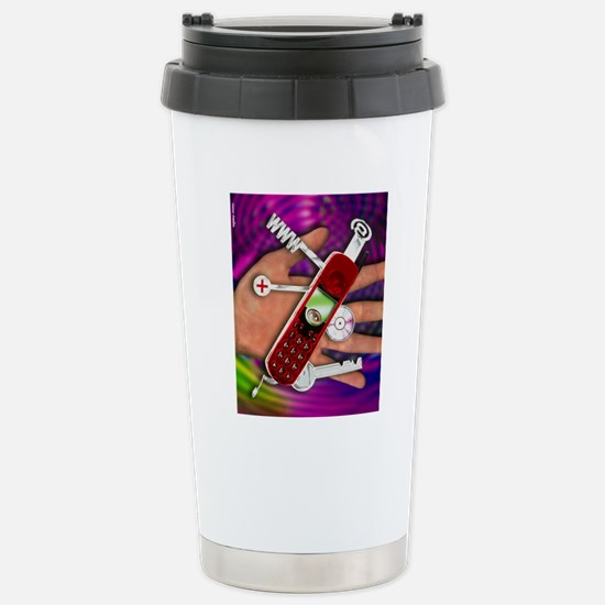 WAP mobile telephone Stainless Steel Travel Mug