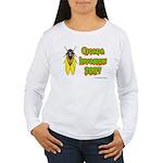 Cicada Invasion 2007 Women's Long Sleeve T-Shirt