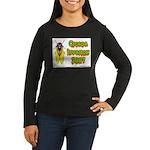 Cicada Invasion 2007 Women's Long Sleeve Dark T-Sh