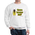 Cicada Invasion 2007 Sweatshirt